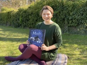 Isabel reads Moth: An Evolution Story